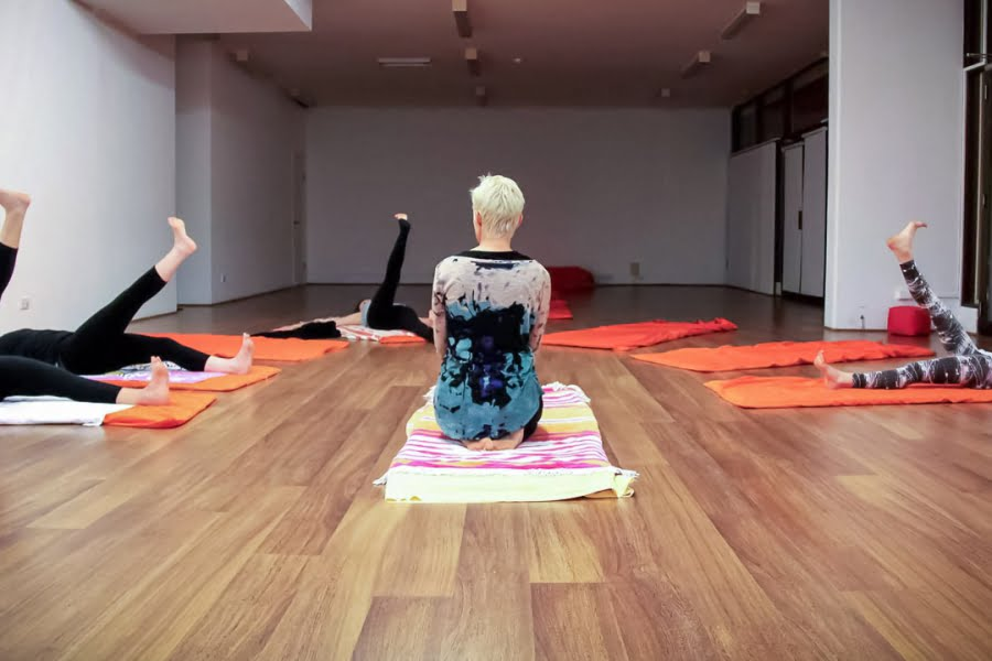 A great first term of Teenage Yoga at Lunge