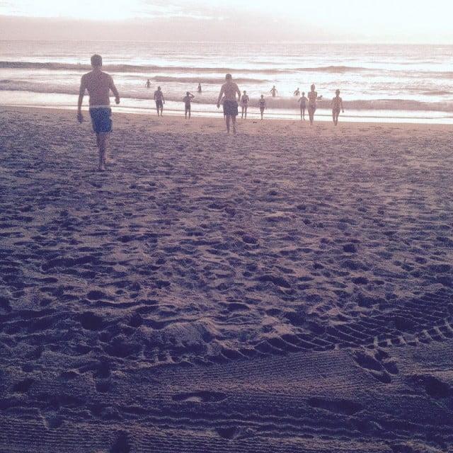2014 Spring Seasonal Intensive Day3 OceanDip
