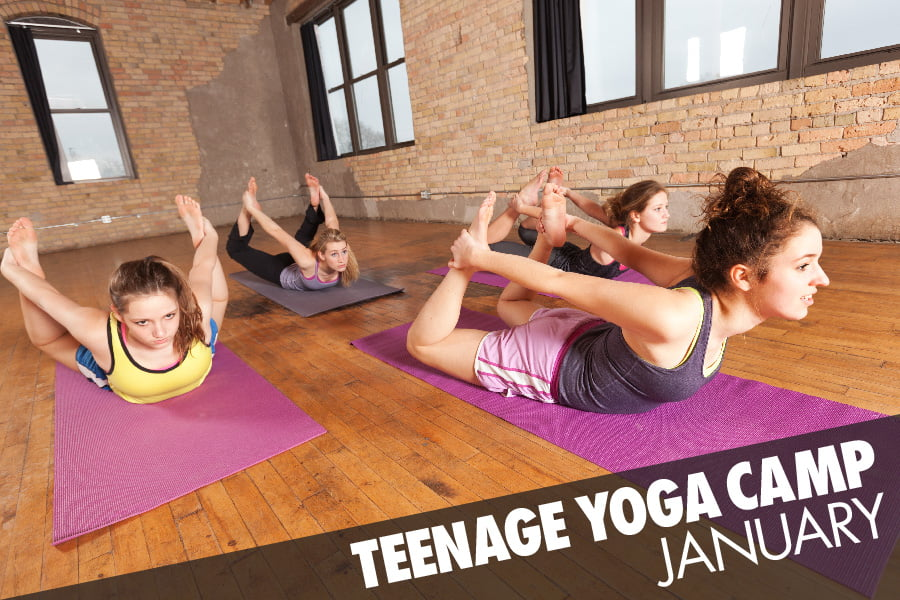 Lunge Teenage Yoga Camp