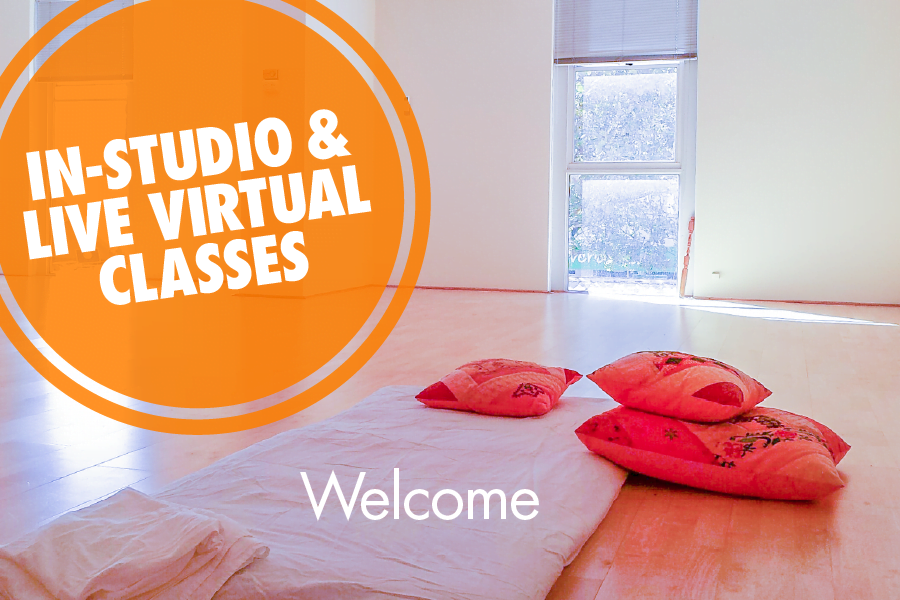 Welcome - In-Studio & Live Virtual Classes